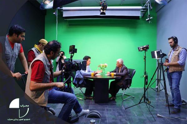 فیلمبرداری پرده سبز