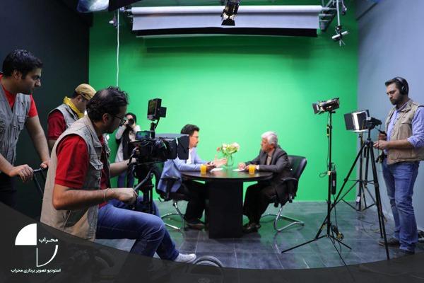 فیلمبرداری در استودیو کروماکی