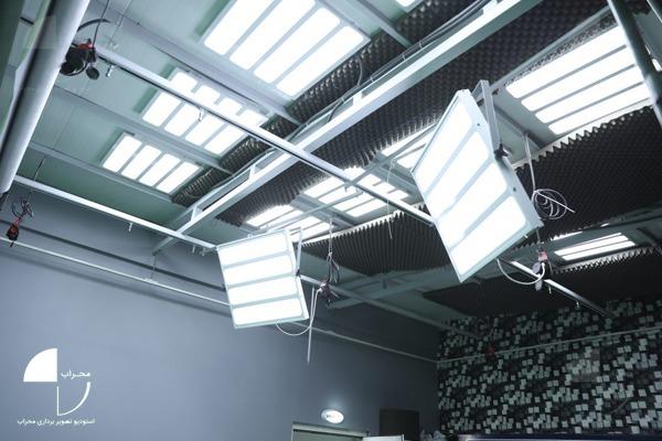 نورپردازی استودیو کروماکی محراب