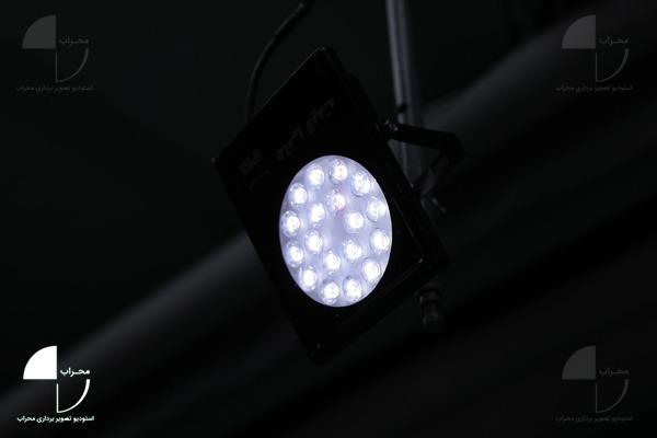 نور LED سی وات استودیو کروماکی