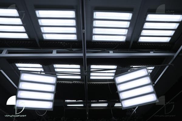 نور سقفی استودیو کروماکی