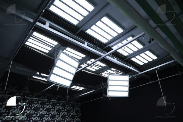 نورپردازی در استودیو کروماکی