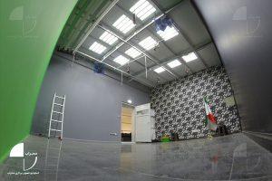 نمای داخل استودیو کروماکی محراب