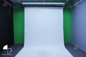 پرده سفید استودیو کروماکی محراب