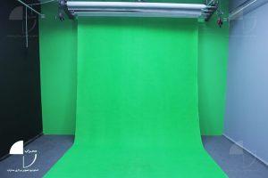 استودیو کروماکی محراب پرده سبز