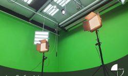 نورپردازی در فضای استودیو کروماکی